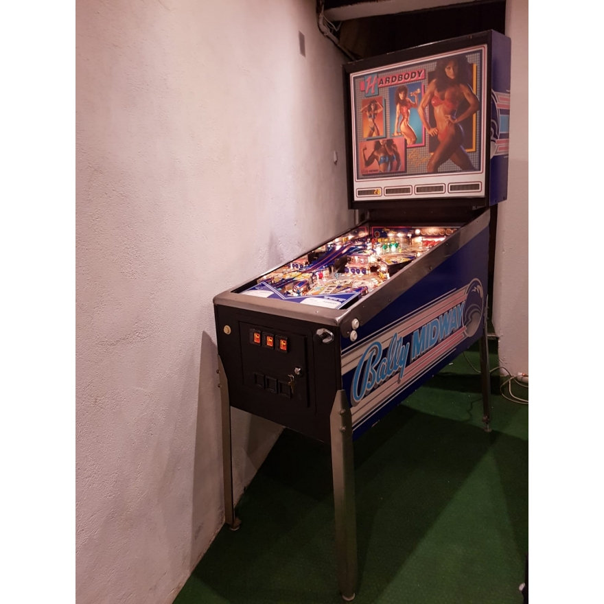 Bally Midway Hardbody Flipper, Pinball machine