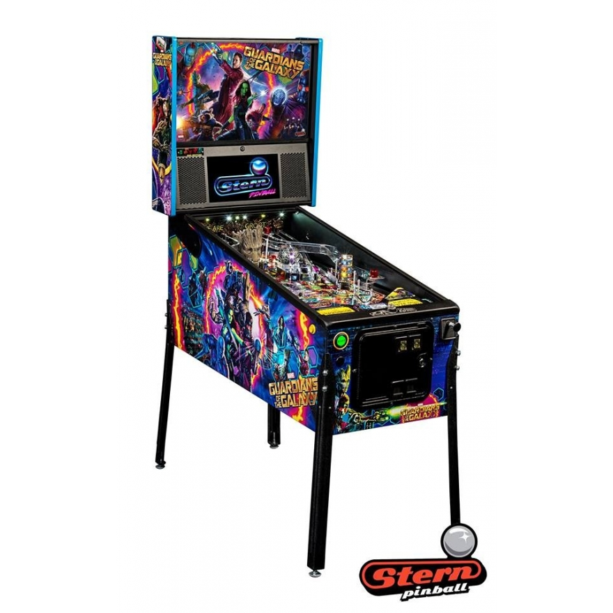 Guardians of the Galaxy Pro, NEUGERÄT, Stern Pinball Machine, Flipper, FK009