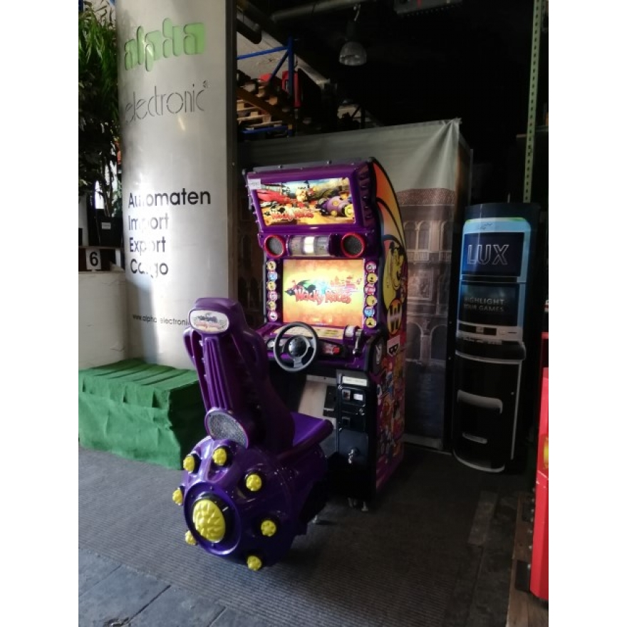 Wacky Races, Banpresto, single Arcade Fahrsimulator, V4690