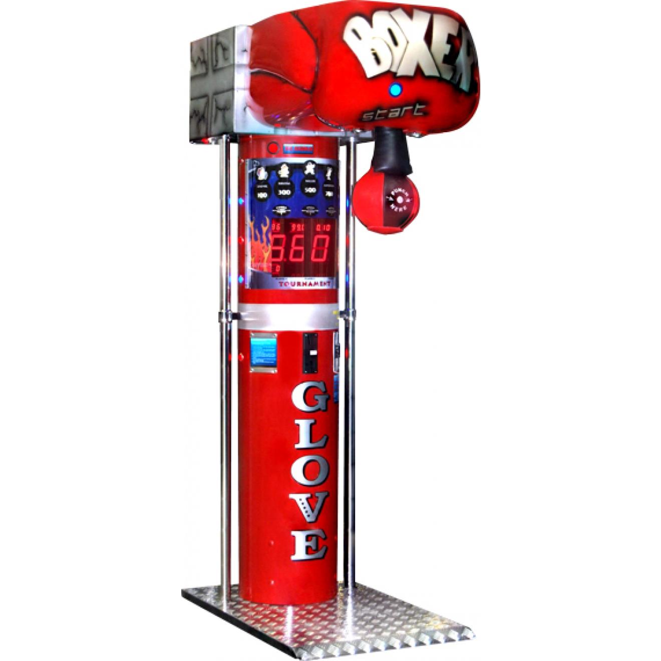 boxer punching machine