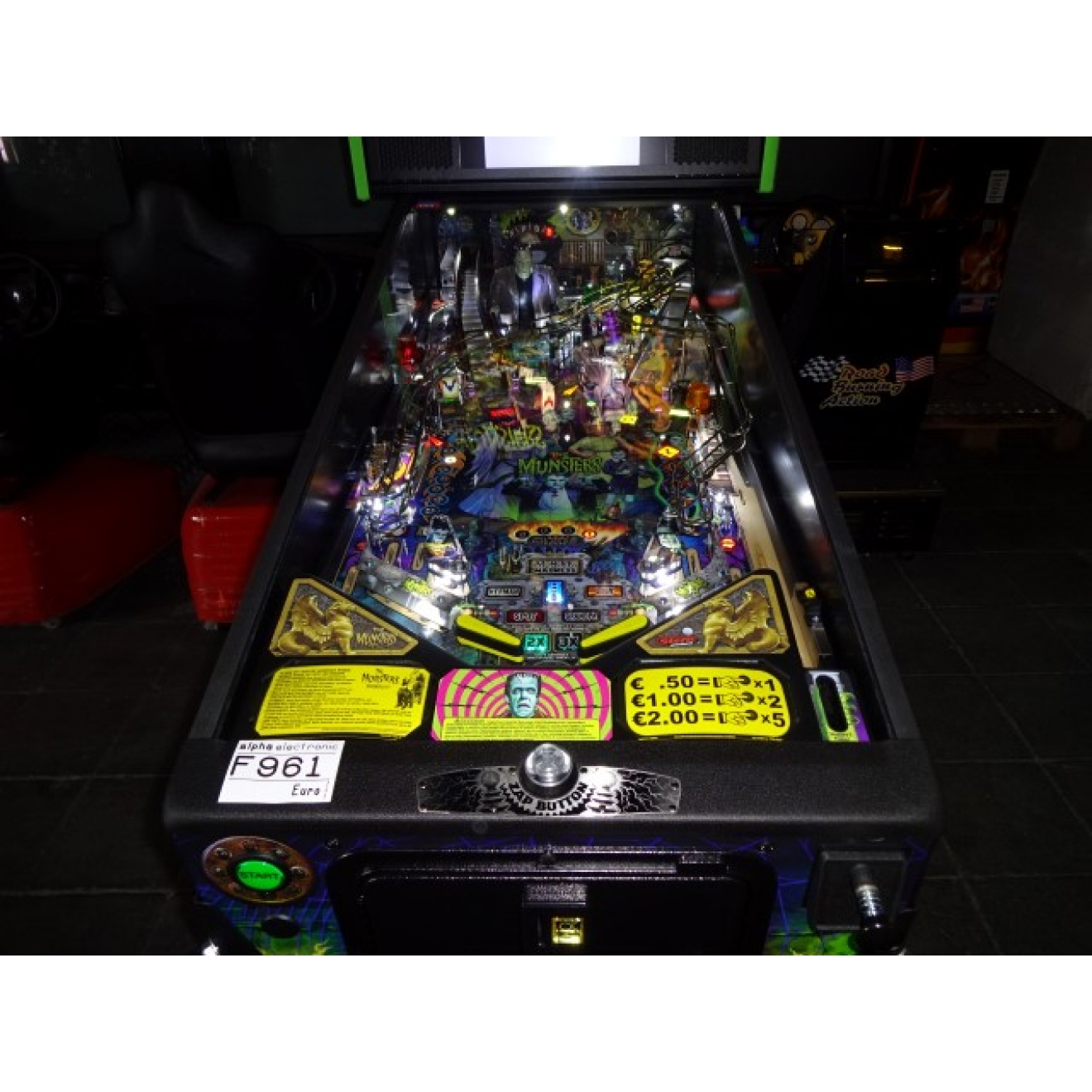 The Munsters Pro Edition, Stern Pinball, NEU, Flipper, F961, Pinball Machine